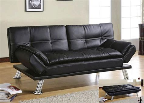 small leather futon small futon couch leather awesome homes small futon