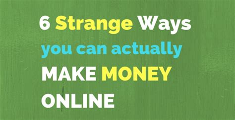 Strange Ways To Make Money Online - aqib nazir affiliate marketer seo digital marketing consulant
