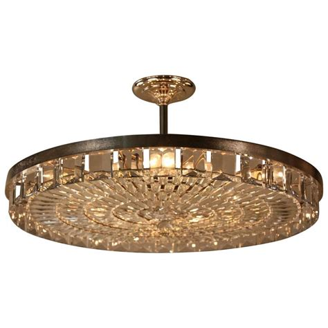 flush chandelier large flush mount chandelier at 1stdibs
