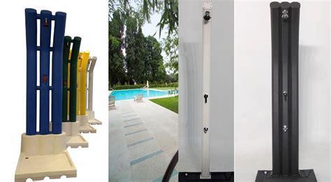 doccia solare piscina docce per piscine solari e docce normali