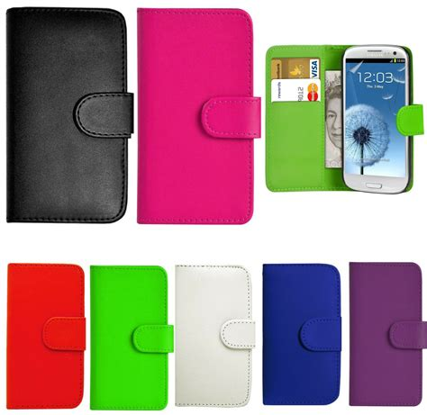 mobile phone cover samsung galaxy ace leather ebay