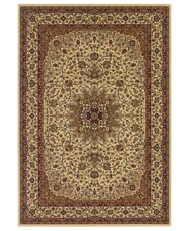 Macy S Rugs by Couristan Area Rugs Tamena Tam103 Kashan Ivory Rugs