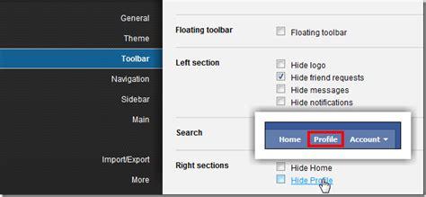 hide top bar hide blue navigation bar on top of profile teen porn tubes
