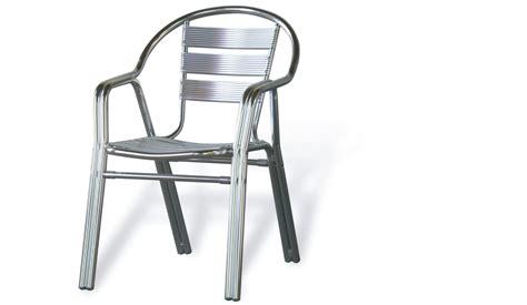 sillas y mesas exterior silla exterior aluminio doble tubo