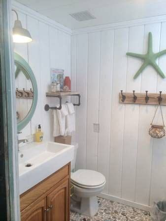beachy bathrooms ideas beach cottage decor ideas for your mobile home you re