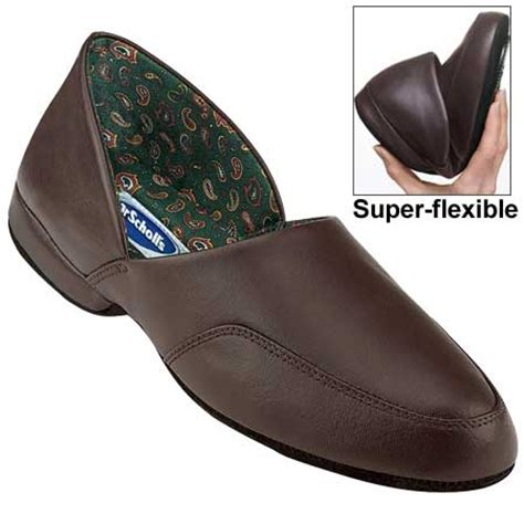 dr scholls mens slippers home dr scholl s 174 s leather slippers