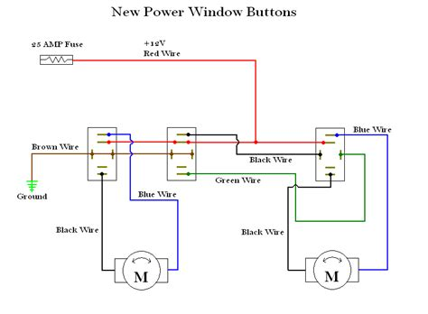 2 way gm window switch wiring diagram wiring diagrams