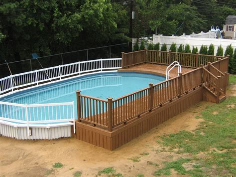 deck trends 2017 oval above ground pool deck plans ideas and decks images