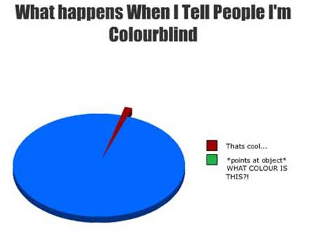 color blind jokes advantages of being colour blind