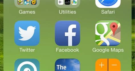 how to create nested folders in ios 7 1