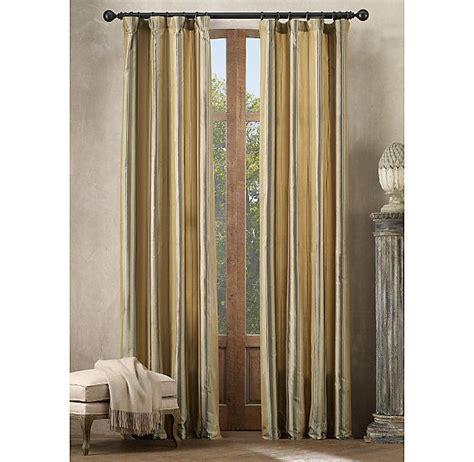 restoration hardware curtain silk taffeta multistripe drapery drapery restoration