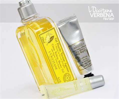 Take A Bath Loccitane Style by L Occitane Verbena Review Stylelab