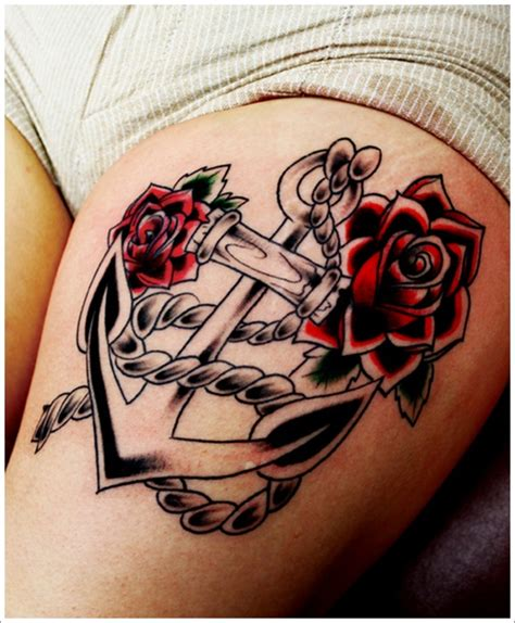 red anchor tattoo anchor images designs