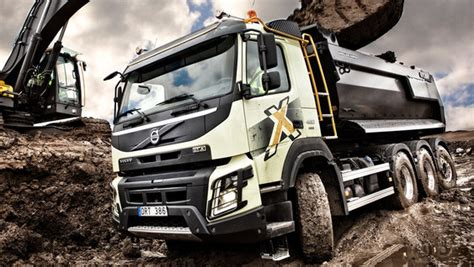 volvo fmx  true construction truck volvo trucks