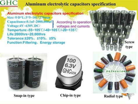 electrolytic capacitor package types capacitor package types promotion shopping for promotional capacitor package types on