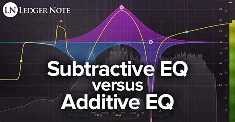 additive vs subtractive color subtractive eq vs additive eq in mixing ledger note