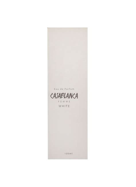 Casablanca Deodorant White by Casablanca Deodorant Spray Eau De Parfum White Btl 100ml