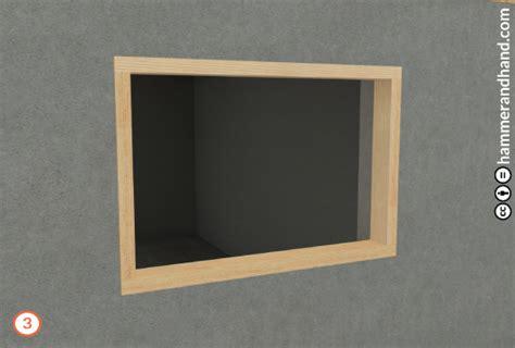 Window Buck in a Masonry Wall   Best Practices Manual