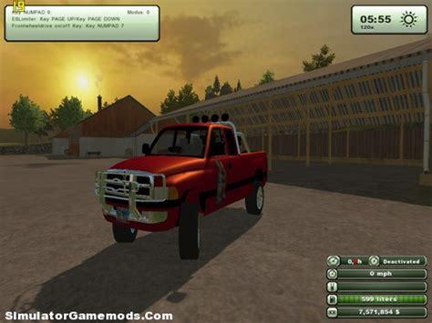 dodge ram simulator games mods