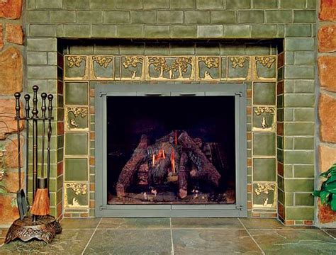 3 steps for tiling a fireplace house