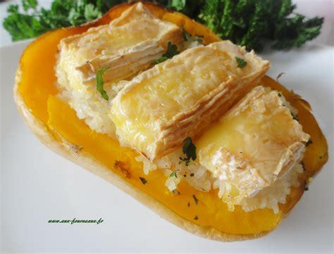 cuisiner une butternut courge butternut farcie au camembert aux fourneaux