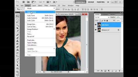 Tutorial X Ray Photoshop Cs3 | cara edit ala x ray youtube