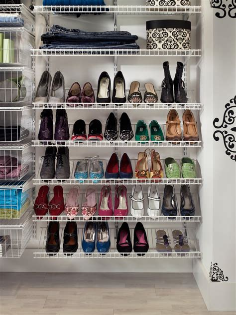 creative shoe storage ideas shoe storage ideas hgtv