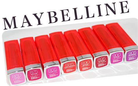 maybelline colorsensational vivids lipstick review x