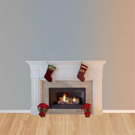 Fireplace Backdrops by 4655 White Fireplace Backdrop