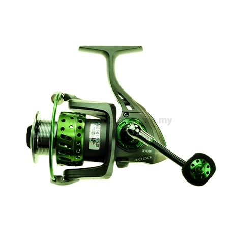 Ryobi Krieger 4000 ryobi krieger spinning reel green welcome to seatackle sdn bhd