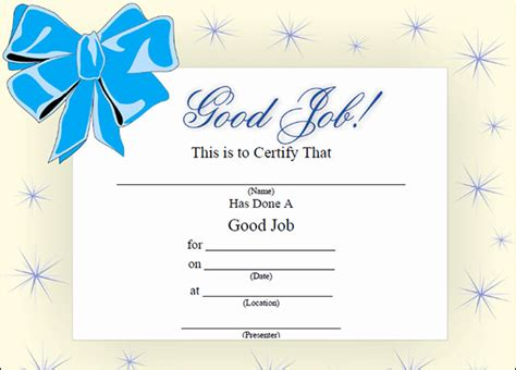 search results for certificate templates free printable