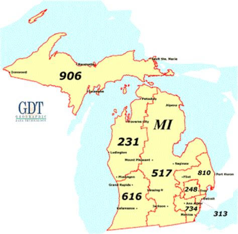 michigan area code map detroit area map michigan michigan map