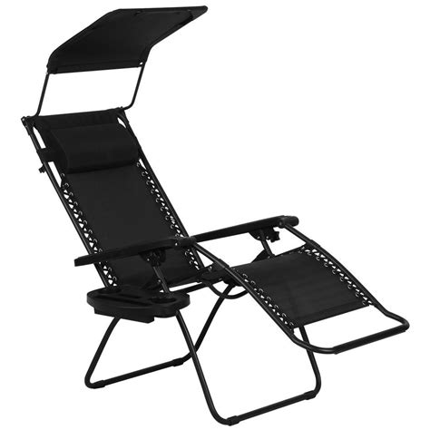 Zero Gravity Lounge Chair With Sunshade by Best Outdoor Zero Gravity Chair Review 2018