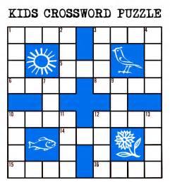 kids printable crossword puzzle purple kitty