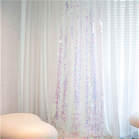 glitter sheer curtains white curtains with silver sequins curtain menzilperde net