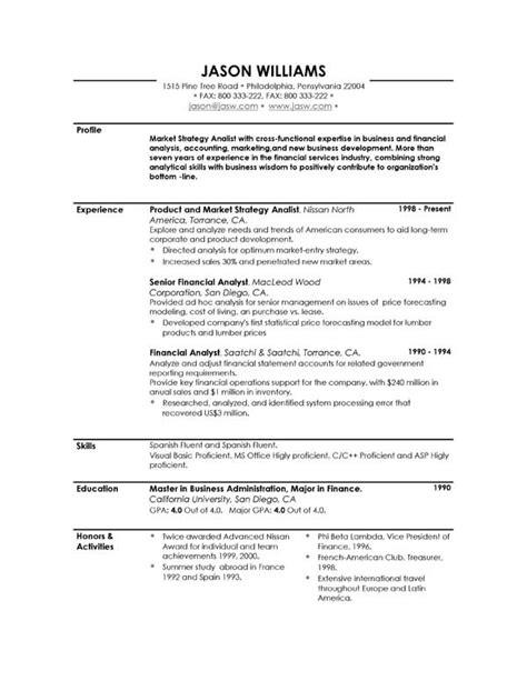 The Resume Professional Profile Examples   RecentResumes.com