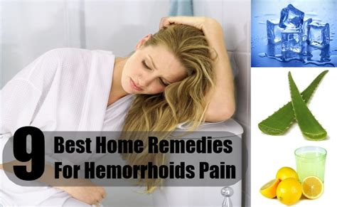 9 best home remedies for hemorrhoids