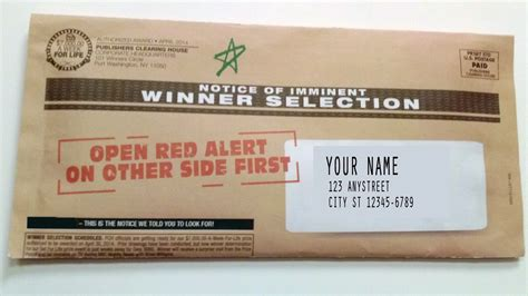 Pch News - did you receive our red alert in the mail that s very good news pch blog
