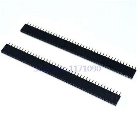 Pin Header 40p Mela 800pin 1x40 pin 2 54mm 40p single row pin header connector pin header 20pcs lot