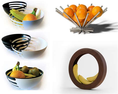 modern fruit holder fruit gadget design swan