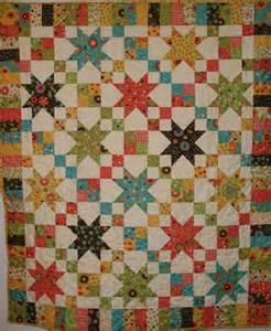 jelly roll quilts made the chain pattern from