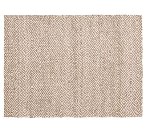 soft jute area rug clark two tone soft jute rug pottery barn