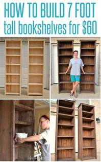 bookcase building how to make bookshelves