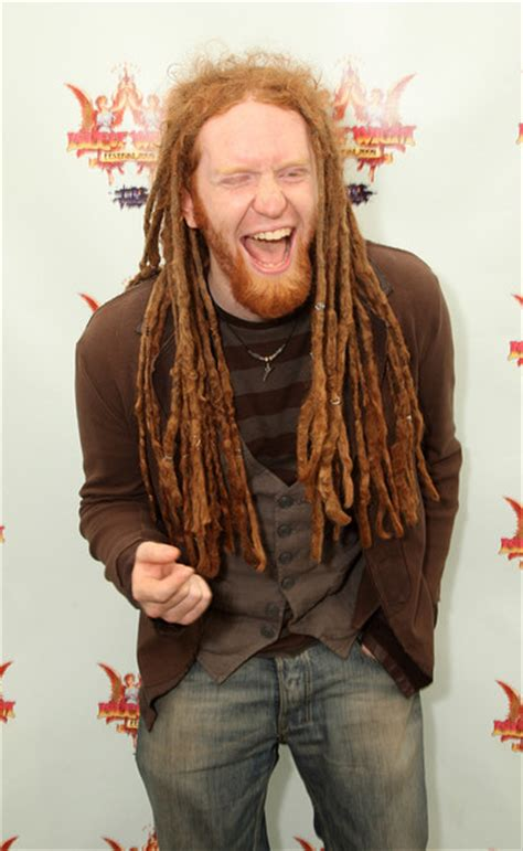 ginger with dreads dreadlocks on non black people