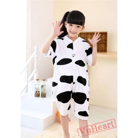Piyama Dewasa Cow Skin Black Pajamas boys cow summer kigurumi onesies pajamas costumes