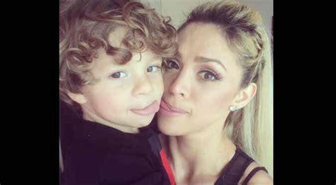 imagenes de cheyla rojas mira el tierno video de sheyla rojas y su hijo video