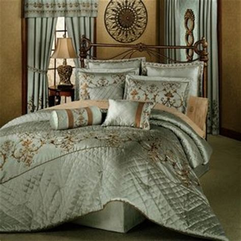 amazon com 7 pc elegant exquisite comforter set w