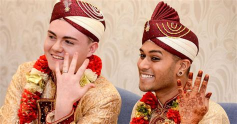 muslim marriage boy unique jahed choudhury 24 knot with of his 19 year boy rogan in uk mera mirpur