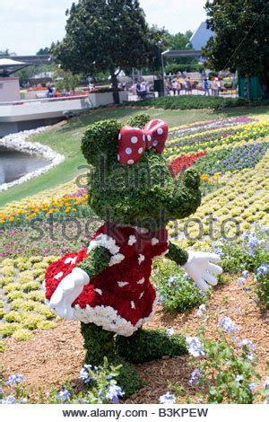 Epcot Flower And Garden Show Epcot Flower And Garden Show Epcot Center Walt Disney World Orlando Stock Photo Royalty Free