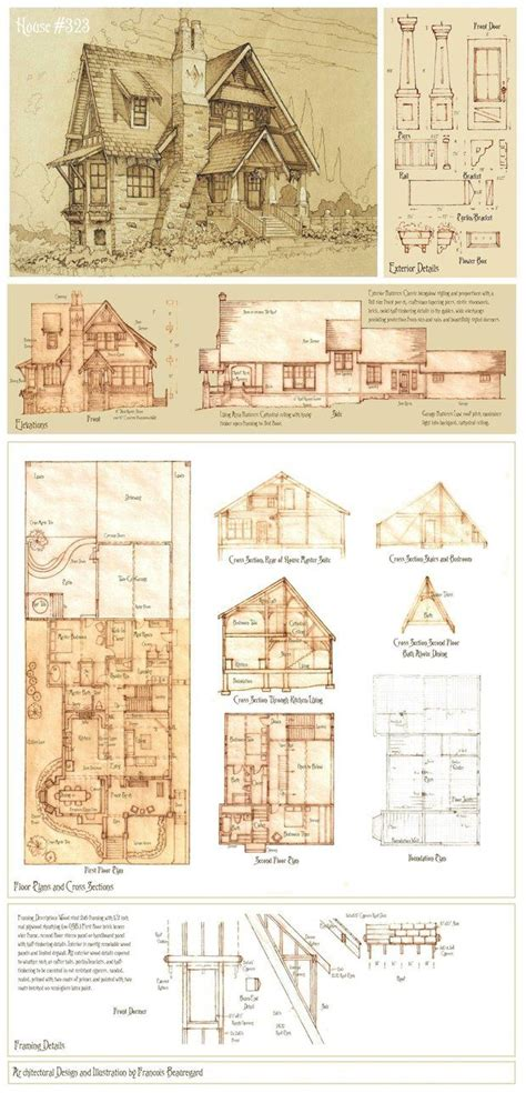 Storybook Style House Plans by 87 Best Images About Vintage House Plans Storybook On